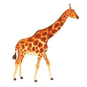 3D-пазл-раскраска «Жираф»