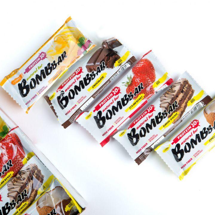 Протеиновый батончик BombBar