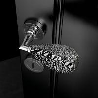 Ручка Glass Design Goccia Black/Silver