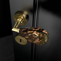 Ручка Glass Design Goccia Black/Brown