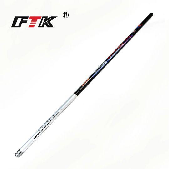 Удилище маховое FTK-62 8 м карбон без колец