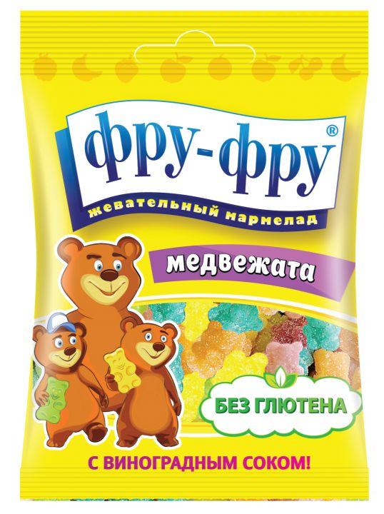 Медвежата-тянучки мармелад 30гр *8*24 (FF-1-23)