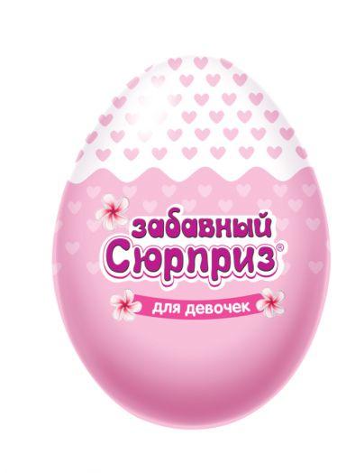 Забавный сюрприз для девочек, яйцо с игрушкой 20 гр 6*24 (ES-1-1/ZS)