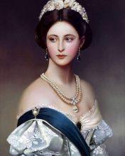 Принцесса Шарлотта (Репродукция Франц Ксавер Винтерхальтер)