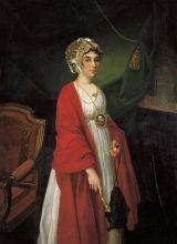 Портрет Прасковьи Жемчуговой (Репродукция  Николая Аргунова)