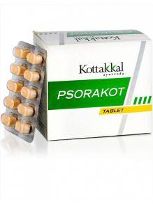 Псоракот от псориаза и заболеваний кожи 100 таб, Коттаккал Аюрведа