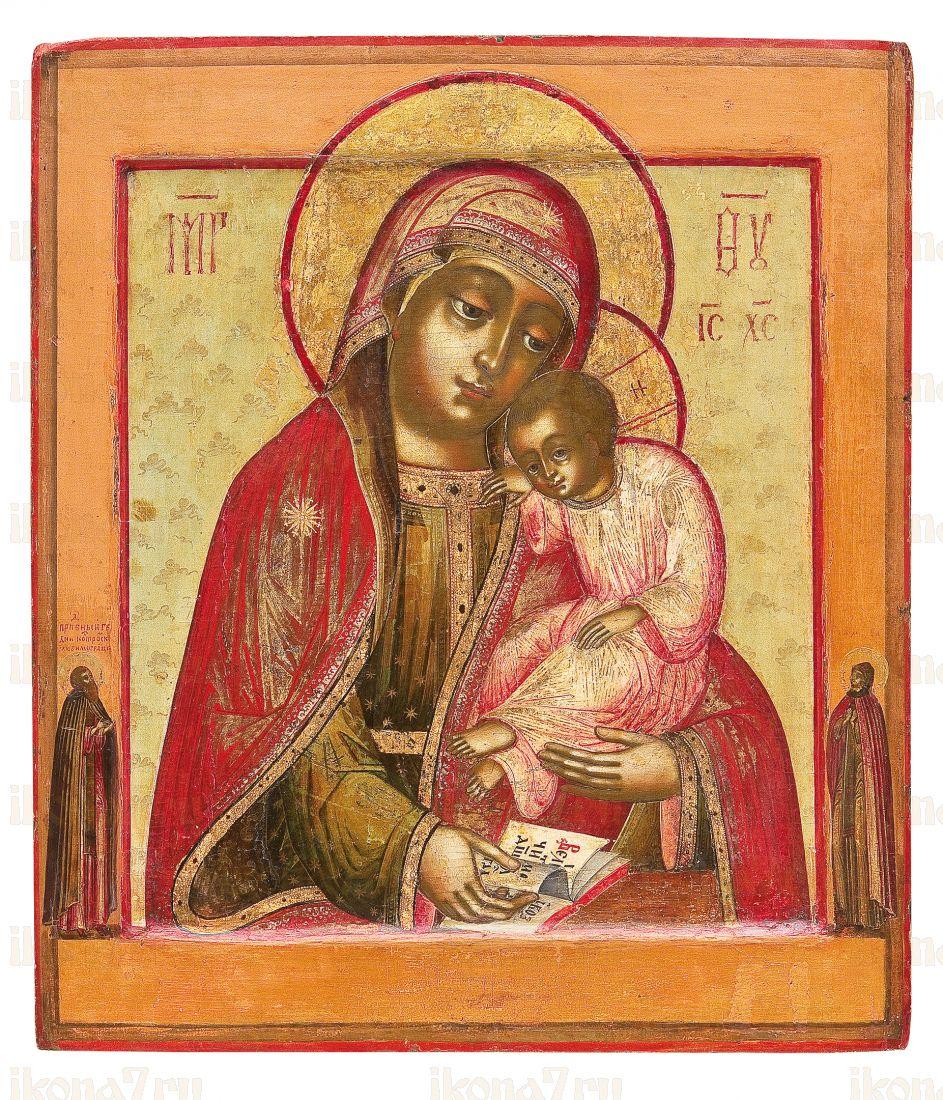 Икона Пресвятой Богородицы Воргольская