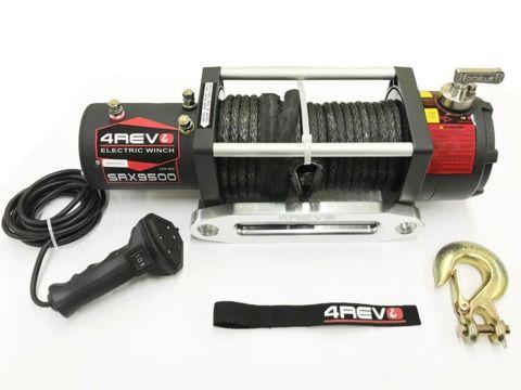 Лебедка автомобильная 4REVO SRX 9500 12В Синтетический трос