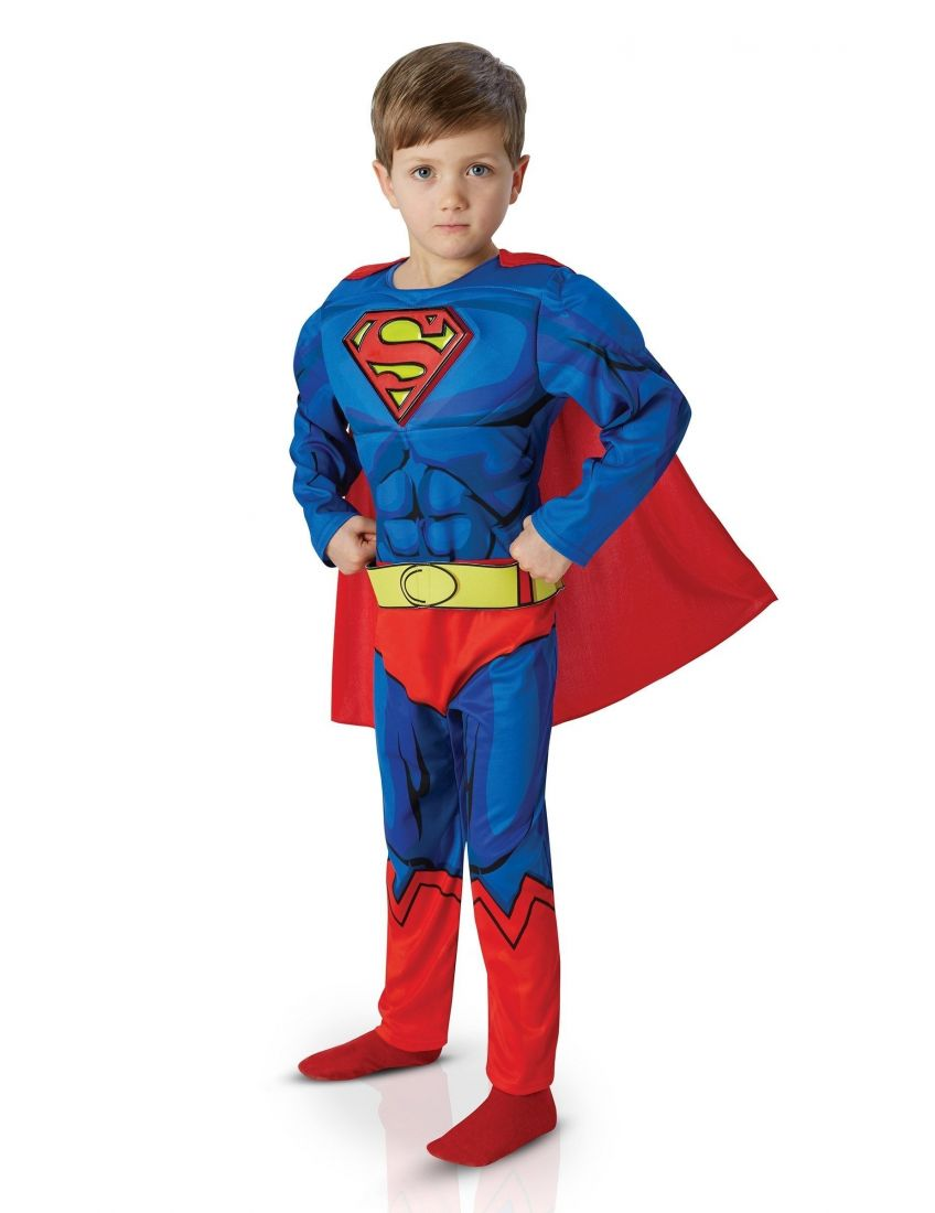 Детский костюм Супермена Dlx