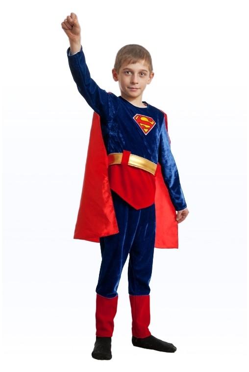 Бархатный костюм Супермена