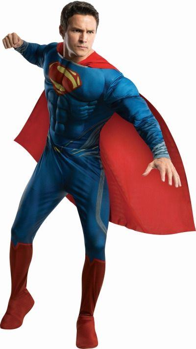 Костюм Супермена из комиксов