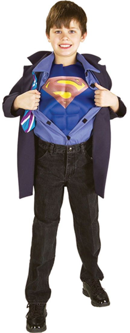 Детский костюм Супермена Кларка Кента