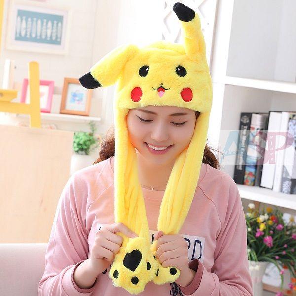 Шапка с ушками Pokemon