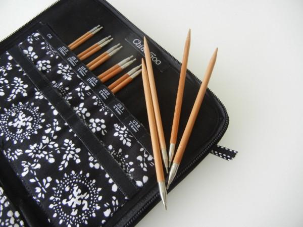 Набор съемных спиц 13 см ChiaoGoo SPIN Bamboo Small