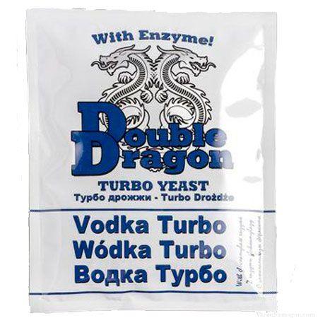Спиртовые Турбо Дрожжи Double Dragon Vodka, 72 г