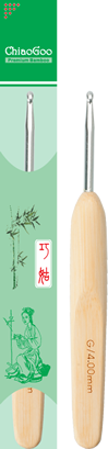 Крючок для вязания ChiaoGoo с деревянной ручкой