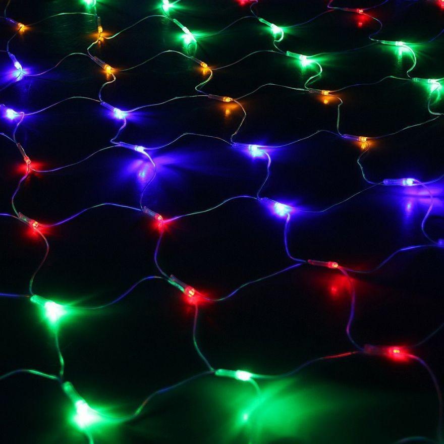 Электрогирлянда «Сетка» 240 LED, 2*2 м.