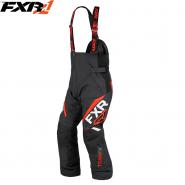 Полукомбинезон FXR Team FX - Black/Red мод. 2019