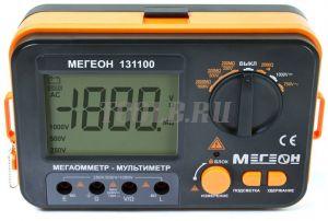 МЕГЕОН 131100 Мегаомметр (измеритель сопротивления изоляции)