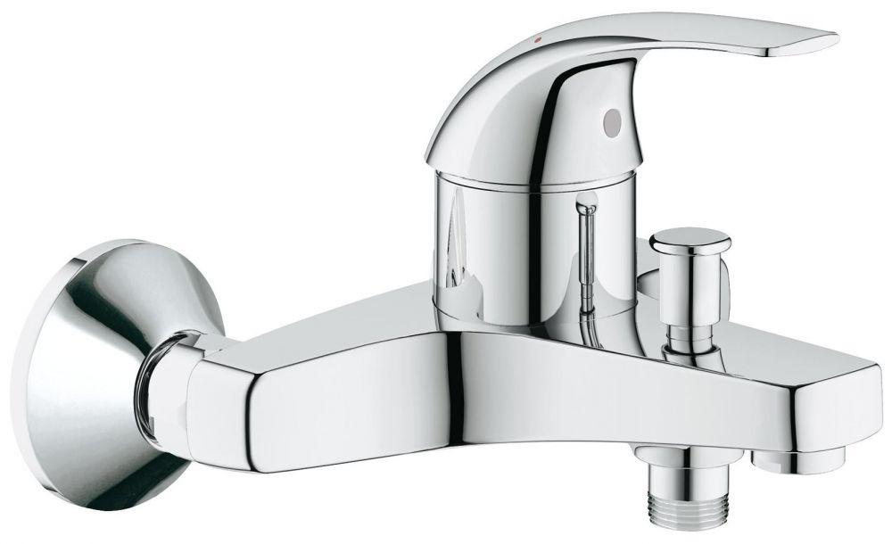 Смеситель Grohe Baucurve для ванны и душа 32806000 ФОТО
