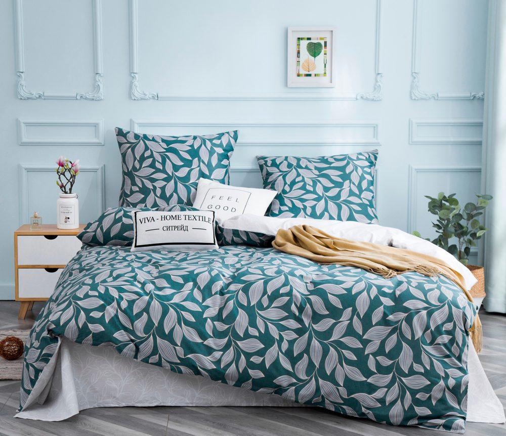 Комплект постельного белья  2 спальный Сатин C345