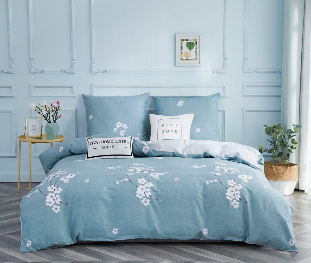 Комплект постельного белья Дуэт Семейный Сатин C347