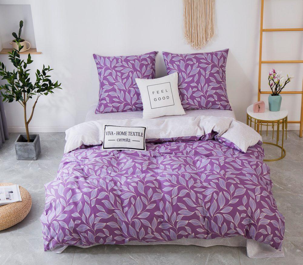 Комплект постельного белья Евро Сатин C353