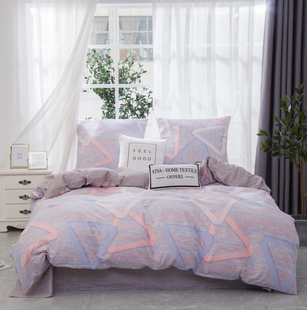 Комплект постельного белья Евро Сатин C360