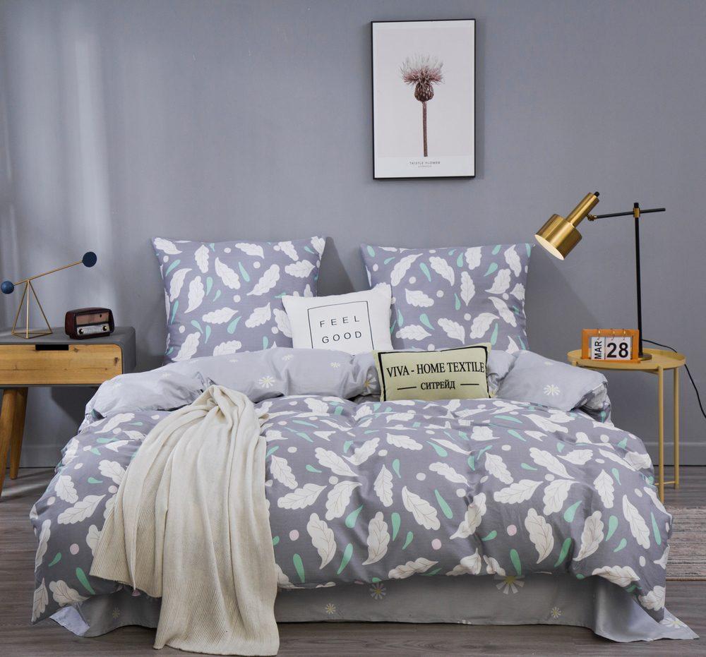 Комплект постельного белья 1.5 спальный Сатин C363