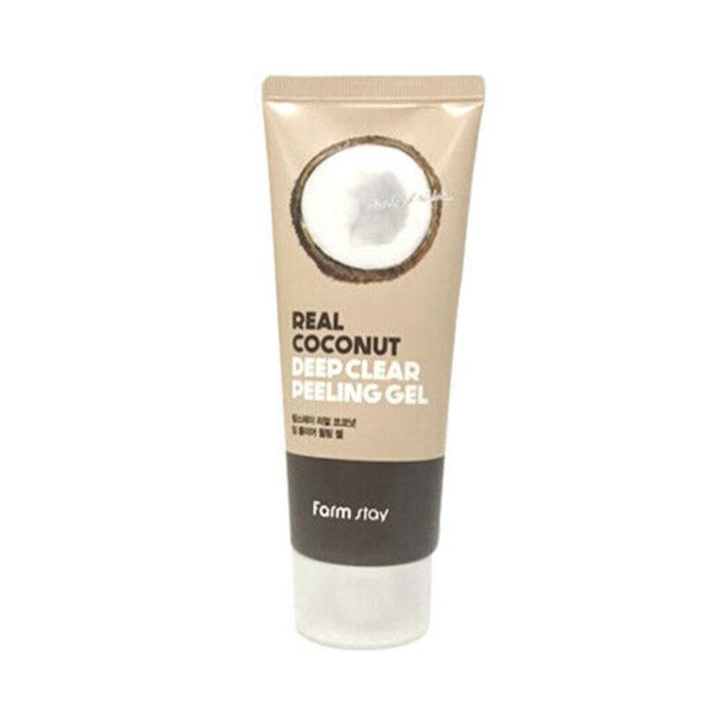 Пилинг-гель с экстрактом кокоса Farm Stay Real Deep Clear Peeling Gel Coconut