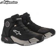 Ботинки Alpinestars CR-X Drystar, Чёрно-серые