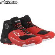 Ботинки Alpinestars CR-X Drystar, Красно-черные