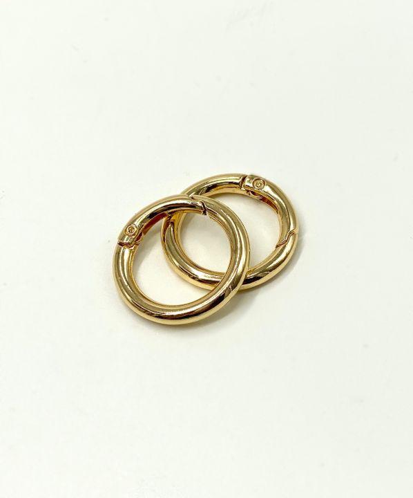 Кольцо разъемное 20*30 мм золото