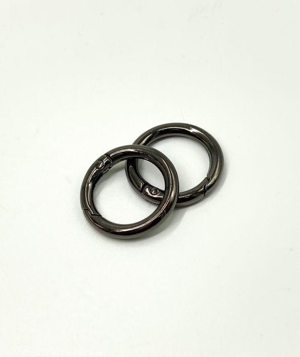 Кольцо разъемное 20*30 мм черное