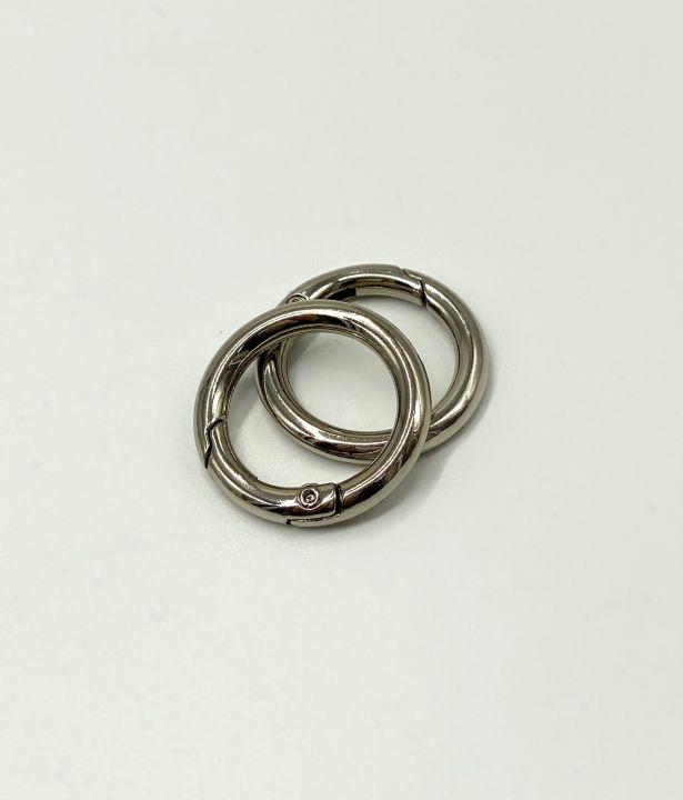 Кольцо разъемное 20*30 мм серебро