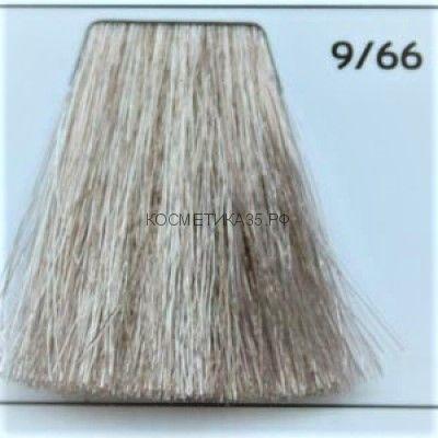 Крем краска для волос 9/66 Блондин интенсивно-фиолетовый 100 мл.  Galacticos Professional Metropolis Color