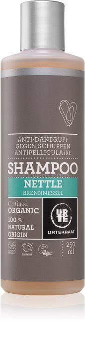 Органический шампунь против перхоти Крапива Urtekram Nettle Anti-Dandruff Shampoo ,250 мл