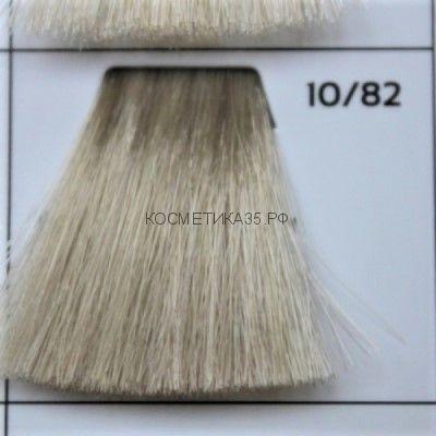 Крем краска для волос 10/82 Светлый Блондин махагон перламутровый 100 мл.  Galacticos Professional Metropolis Color