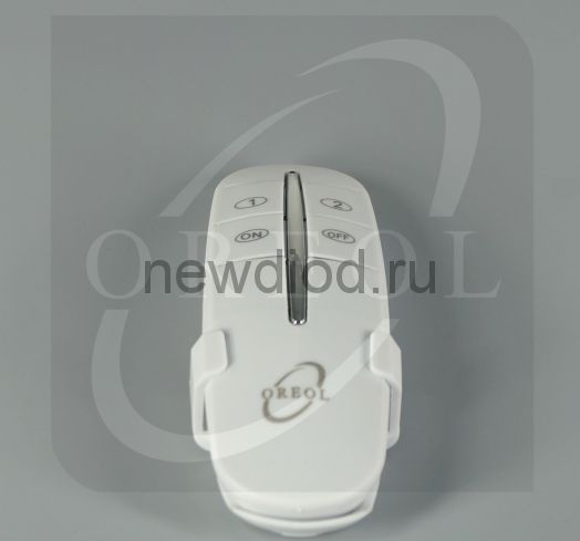 Выключатель ПУЛЬТ с держателем 2-канальный RC-2 Oreol