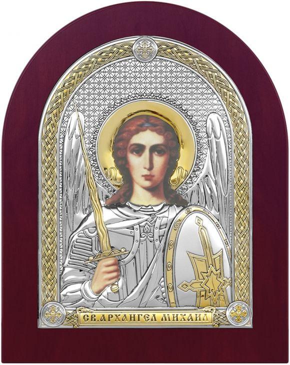 Серебряная икона Святой Архангел Михаил (Италия)