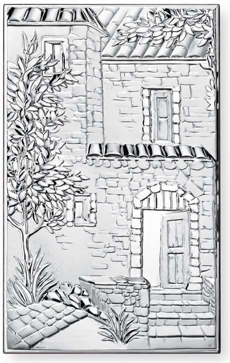 "Картина ""Каменный домик"" (Италия, 14х23 см.)"