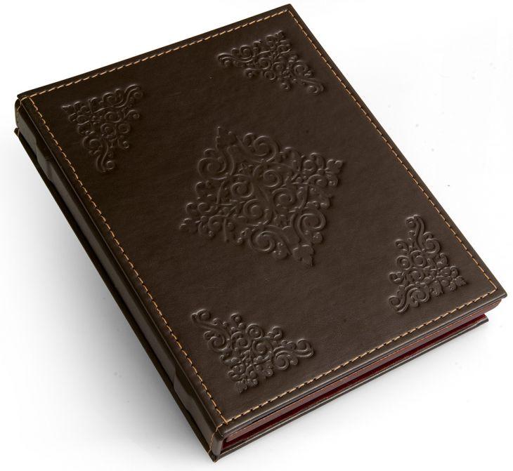Кожаный футляр для икон на магните (Италия, 14х19 см.)