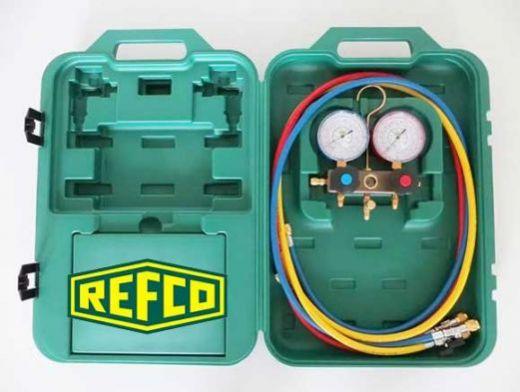 Манометрическая станция Refco SM2-3-DS-Multi в кейсе