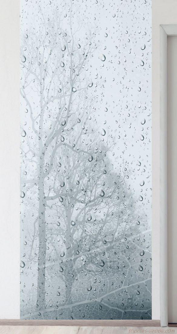 Панно на стену - Ветер и дождь