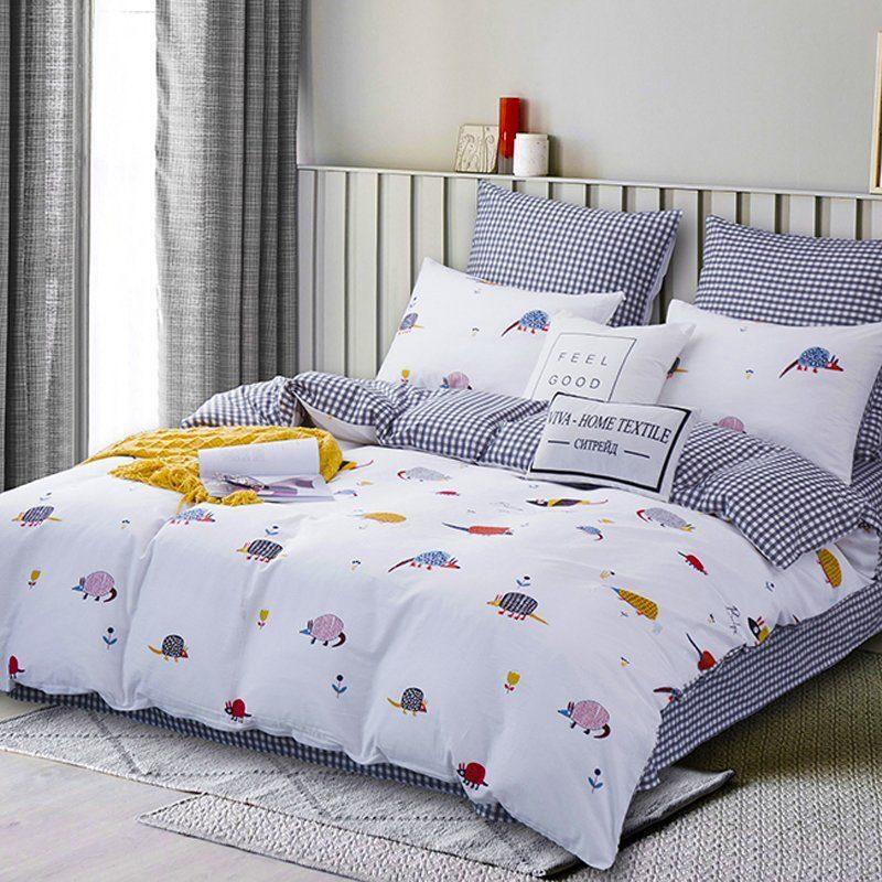 Комплект постельного белья Делюкс  Евро  Сатин L185