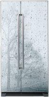 наклейки на холодильник - ветер и дождь магазин Интерьерные наклейки