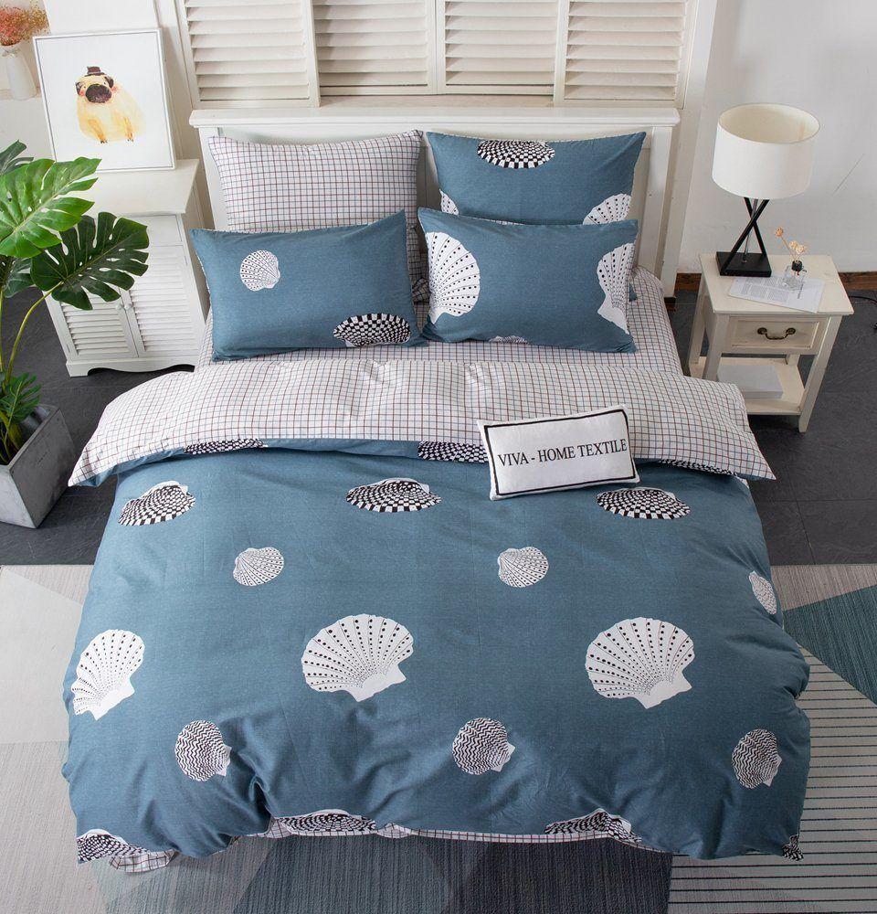 Комплект постельного белья Делюкс  Евро  Сатин L201