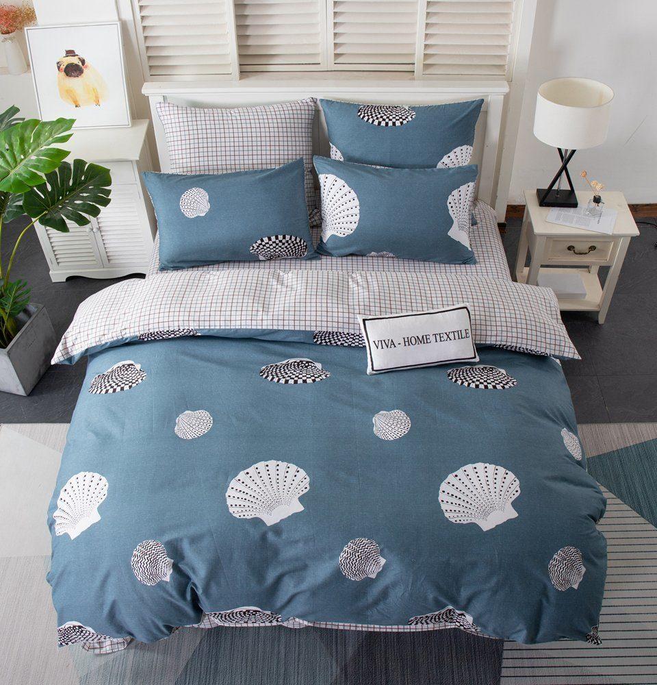 Комплект постельного белья Делюкс Дуэт Семейный  Сатин на резинке LR201