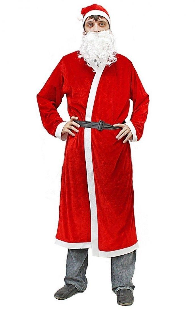 Классический костюм Деда Мороза