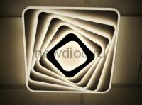Управляемый светодиодный светильник GEOMETRIA 612 170Вт-10000Лм 500мм пульт 6/3/4000K Oreol
